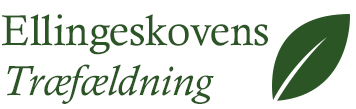 Ellingeskovens træfældning logo